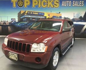 2007 Jeep Grand Cherokee LAREDO, 4X4, POWER GROUP!