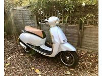 Lexmoto Vienna 50cc Scooter like Vespa ELECTRIC START, 4Stroke, ONLY 180MILES! **LIKE NEW**