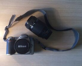 Nikon D50 Silver + 70-210mm and 28-80mm lens