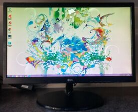 22 inch LG 22M38A Full HD LED VGA Widescreen Computer Screen Monitor for PC