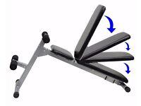 Weight Training Bench Folding Adjustable Abdominal Incline & Decline Bench