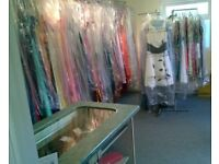 Large selection of new Formal - evening dresses and shop contents