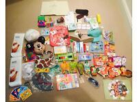 Bundle of kids toys,clothes,shoes,crafts,etc.