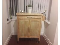 Heart of House Tollerton Wooden Kitchen Trolley-3 months old!!
