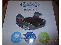 Graco Junior Basic Booster Group 3 Car Seat - Sport Pink