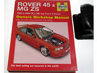 Book Rover 45 & Mg ZS