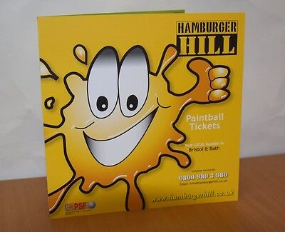 Bristol / Bath Paintballing - Hamburger Hill Paintball Tickets x 10 People