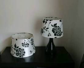 Matching lamp and ceiling lampshade