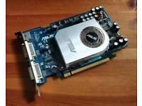 AsusGeForce 7600GT (256MB) - PCIE Gaming Graphics/Video Card (GPU)
