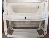 SnuzPod 3in1 Co-Sleeper Bedside Crib Cot & Mattress