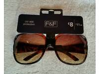 F&F Tortoiseshell Sunglasses/bling arms.
