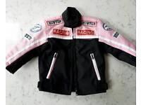 Toddler biker style jacket - Size 0