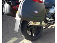 Panniers and Rack for VFR800FI Non Vtec