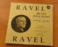 Intégrale de l'oeuvre de Ravel pour piano, par Vlado Perlemuter