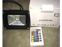 10W LED RGB floodlight