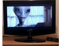 """26"""" Samsung full hd tv with remote"""