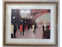 Large framed print 'Paris Remembered' by Lorraine Christie