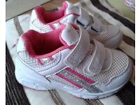 Girls pink Girls trainers. Size 5