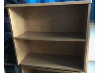 2 Shelf Cherry Bookcase - 4 available