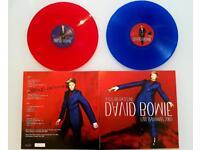 David Bowie Jesus On Dateline Coloured Vinyl 2LP Live 2003 Bureau Supply New Sealed Numbered