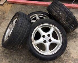 Mx5 wheels x 4 with tyres