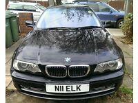 BMW 330ci coupe automatic black 2002 good condition