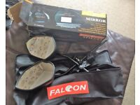 Falcon Towing Mirrors and carry bag