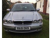 Jaguar x type 2.5 auto