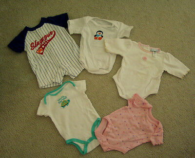 Baby Girl Marvel Clothes (Baby Girl Clothes Snap-Top Slugger Little Wonder Faded Glory Pet Smoke)