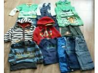 Boys 12-18 months large clothing bundle