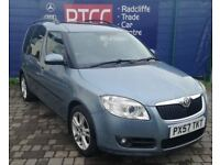 2007 (57 reg), Cat C Skoda Roomster 1.4 16v 3 5dr MPV, AU WARRANTY & AA COVER INCLUDED, £2,295 ono
