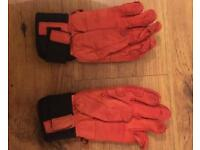 Hesta Leather Fall Line Ski Gloves