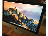 """Apple iMac 27"""" (late 2013) 3.4ghz immaculate condition"""
