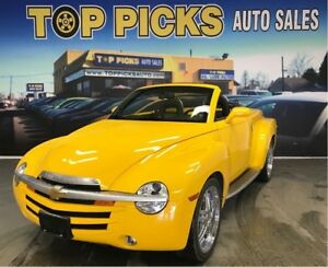 2003 Chevrolet SSR IMMACULATE TRUCK!, Carpet Bed, 2 Sets Of Whee