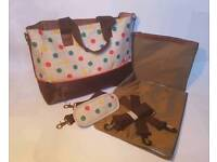 New Changing Bag - Multi Coloured