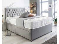 SUPER KING SIZE BED AND MATTRESS