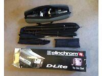 Elinchrom D-Lite 2 Photography Studio Lighting Kit