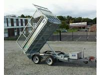 Very mint 8x5 tipper trailer with meshsides only used 3 times