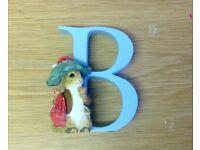 Beatrix Potter Alphabet Letters: Letter B