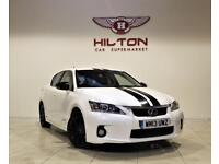 LEXUS CT 1.8 200H ADVANCE 5d AUTO 136 BHP + 1 PREV OWNER + SERVICE HISTORY (white) 2013