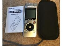 Olympus Digital Voice Recorder Dictaphone Like New