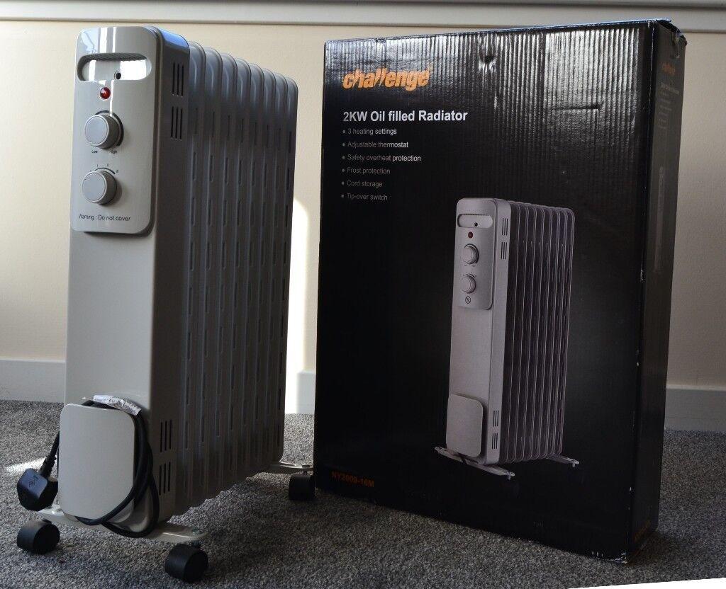 challenge 2kw oil filled radiator in edinburgh gumtree. Black Bedroom Furniture Sets. Home Design Ideas
