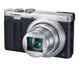 Panasonic Lumix DMC-TZ70 in silver with 16GB memory card