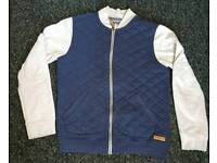Mens blue and white jacket