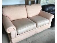M&S metal framed sofa bed