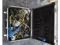 Metal toolbox plus tools etc.