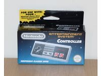 Official Genuine Nintendo NES Classic Mini Controller