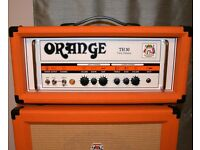 Orange TH30 and PPC 112 half stack guitar amp