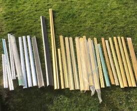 Carpet/ tile/ laminate covers/door bar trims, brass and silver brand new,