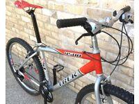 17 inch Trek 4500 lightweight Aluminium Mountain Bike MTB bike bicycle